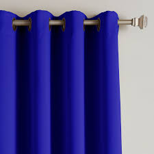 Blue Blackout Curtains Walmart by Amazon Com Best Home Fashion Thermal Insulated Blackout Curtains