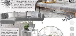 loft livingroom wohnzimmer in silber grau looks
