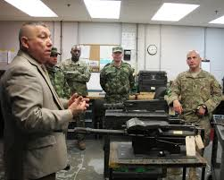 South Carolina National Guard hosts top Colombian army maintenance