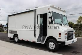White Catering Food Truck SS-55 - Pacific Northwest Food Trailers ...