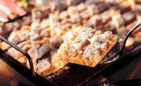 rhabarber marzipan kuchen vom blech