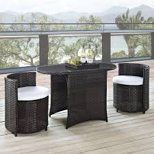 Walmart Wicker Patio Dining Sets by Wicker Patio Set Great Companions To Meet Outdoors Marku Home