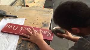 how to make a rustic spray painted custom wood sign youtube