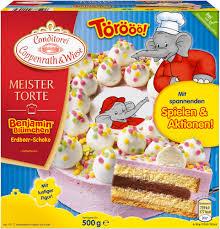 benjamin blümchen torte 500 grams conditorei coppenrath