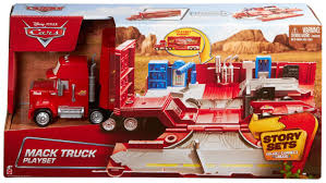 Buy Mattel Disney Pixar Cars Mack Truck And Transporter - Multi ... Disneypixar Cars Mack Hauler Walmartcom Amazoncom Bruder Granite Liebherr Crane Truck Toys Games Disney For Children Kids Pixar Car 3 Diecast Vehicle 02812 Commercial Mack Garbage Castle The With Backhoe Loader Hammacher Schlemmer Buy Lego Technic Anthem Building Blocks Assembly Fire Engine With Water Pump Dan The Fan Playset 2 2pcs Lightning Mcqueen City Cstruction And Transporter Azoncomau Granite Dump Truck Shop