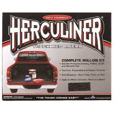 100 Do It Yourself Truck Bed Liner Herculiner Black Coating Kit 1 Gal Ace Hardware