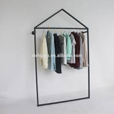Decorative Metal Garment Rack by Clothes Rack Shop Fittings Clothes Rack Shop Fittings Suppliers