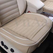 couvre siege auto cuir housses de sieges en faux cuir pour l habitacle des automobiles ebay