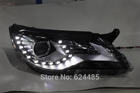 for volkswagen tiguan 2010 2012 bi xenon headlights v3 type in car