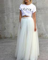 25 long white skirts ideas long skirts tops