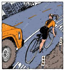 A Female Bicyclist Threatened By A Truck Veering Into The Bike ... Mountain Bike Mounted To A Pickup Truck Stock Photo 25679316 Alamy Soc18 Exodux Multitaskr Bed Tailgate Mount Grabs Your By Surly Ice Cream Truck 5 Trail Fat Bike 2015 Triton Cycles Show Diy Racks Mtbrcom New Best Method Carry Hauling In Bed Road Bikes Delivery Park City Demos Swagman Patrol Rack 2017 Skogs Yellow Tire Denvers Ultimate Truck Bike Rack United States Ride88 Removable For Toolbox Steps With Pictures