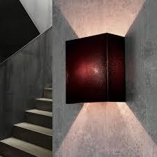 stoff wandleuchte weiß eckig loft e27 modernes design