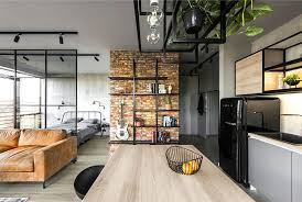 The Latest Work Of Me2architects Studio Is This Charming Small Apartment In A Former Industrial District That Preserves Its Heritage Under Original And