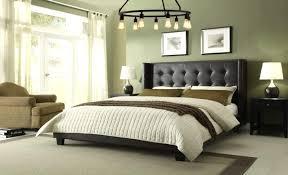 Black Leather Headboard Bed by Bedroom Unique Retro Zen Bedroom Idea With Black Chandelier Also
