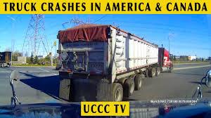 Truck Crashes In America (USA & Canada) || Semi Truck Driving Fails ...