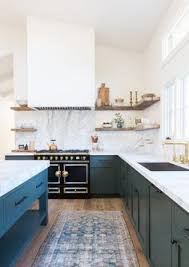 Teal Green Kitchen Cabinets by The Color Of The Kitchen Cabinets Is A Mix Of Baby Blue And Green