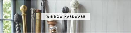 Double Traverse Wood Curtain Rod by Window Hardware Rods Finials Rings Brackets