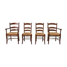 84% OFF - Ladder Style Rush Seat Dining Chairs / Chairs 6 Ladder Back Chairs In Great Boughton For 9000 Sale Birch Ladder Back Rush Seated Rocking Chair Antiques Atlas Childs Highchair Ladderback Childs Highchair Machine Age New Englands Largest Selection Of Mid20th French Country Style Seat Side By Hickory Amina Arm Weathered Oak Lot 67 Set Of Eight Lancashire Ladderback Chairs Jonathan Charles Ding Room Dark With Qj494218sctdo Walter E Smithe Fniture Design A 19th Century Walnut High Chair With A Stickley Rush Weave Cape Ann Vintage Green Painted