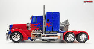 100 Transformer Truck S Tribute Movie Anniversary Optimus Prime Toy Review BWTF