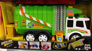 The Latest New Version Of Dickie Toys Recycling Garbage Truck Is In ...