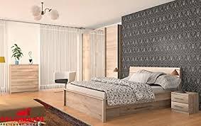 schlafzimmer komplett 215372 5 teilig san remo eiche hell