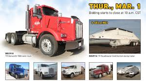 Truck And Trailer Auction   March 1, 2018   Purple Wave - YouTube United Auctioneers Inc Trucks Heavy Equipment Unreserved Public Veonline Heavy Equipment Auction Buddy Barton Auctioneer Certified Experienced Truck Trailer Repair Services In Calgary Caterpillar 775d Rock Pinterest 2001 Sterling At9500 Semi Truck For Sale Sold At Auction July 21 1989 Volvo Wia December 3 Buy And Sell Trucks Cstruction Equipment Vans Manheim Indianapolis Auction On Vimeo Used Heavy City Duty Online Key Details Hamilton Company