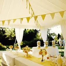 Simple Wedding Ideas For Summer Incredible Backyard Golden Decorations