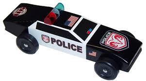 ARROW Police Car Pinewood Derby
