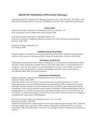 PhD CV Biotechnology