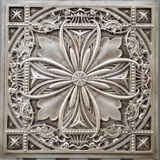 ceiling chic silver faux tin ceiling tiles for ceiling decoration