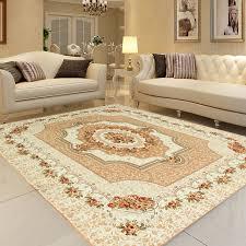 Honlaker 200x240CM Carpet Living Room Large Classic European Rugs Luxury Coffee Table Big Carpets