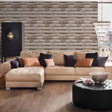 a s création vliestapete il decoro tapete in vintage holz optik braun grau