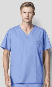 Ceil Blue Scrubs Womens by Wink Wonderwork Ceil Blue Scrubs