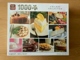 puzzle 1000 teile king 05765 sweet delight kuchen torten ovp