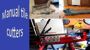 Ishii Tile Cutter Manual by Tile Snap Cutters Youtube