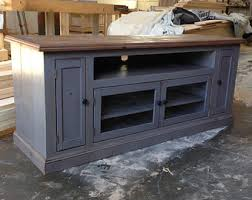 TV Stand Entertainment Center Media Console Cabinet Reclaimed Wood Rustic