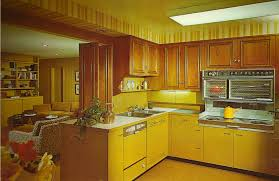 1970s Green Kitchen