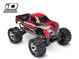 100 Rc 4x4 Trucks Traxxas Stampede Monster Truck RTR ID Tech TRA670541 RC Planet