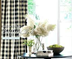Black And White Checkered Curtains Best Buffalo Check Images On