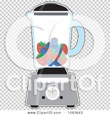 Clipart Kitchen Blender With Blueberries And Strawberries For A