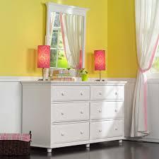 big 6 drawer dresser w mirror by maxtrix kids shown in white
