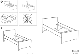 Twin Trundle Bed Ikea by Ikea Beds Robin Bed Twin Pdf Assembly Instruction Free Download