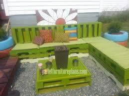 DIY Furniture Plans Tutorials Pallet Patio