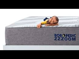 Bobs Furniture Sofa Bed Mattress by Bob O Pedic Zzzoom Mattress Bob U0027s Discount Furniture Youtube