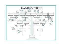 Editable Family Tree Template Easy Printable Cooperative Captures Although With Drawing Simple Impression Flow Chart