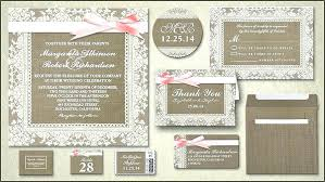 Rustic Wedding Invitation Kits 5151 And Burlap Lace Invitations