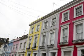 100 Notting Hill Houses The Colourful Of Little Observationist