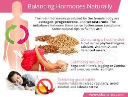 Uterine Lining Shedding Period by Balancing Hormones Naturally Shecares Com