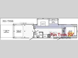 2016 5th Wheel Toy Hauler Floor Plans by Used 2006 Palomino Puma 30fqss Travel Trailer At Fun Town Rv Puma