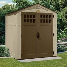 Suncast 7 X 7 Alpine Shed by Suncast Sheds Maintenance Free Beautiful Storage Free Shipping